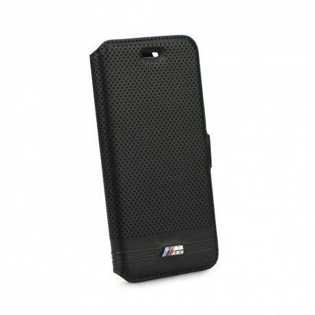 Oryginalne etui BMW book na telefon do iPhone 6 czarne