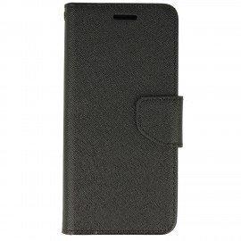 Etui portfelowe Fancy na telefon Sony Xperia XA1 czarny