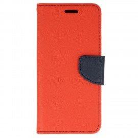 Etui portfelowe Fancy na telefon Sony Xperia XA1 czerwony