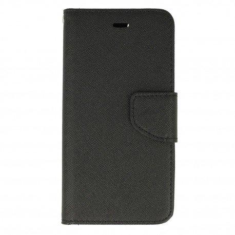Etui portfelowe Fancy na telefon iPhone 6 czarny