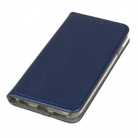 Etui boczne z klapką magnet book iPhone 6 granatowy