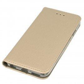 Etui boczne z klapką magnet book iPhone 6 złoty