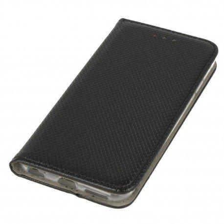 Etui boczne z klapką magnet book iPhone 6S czarny