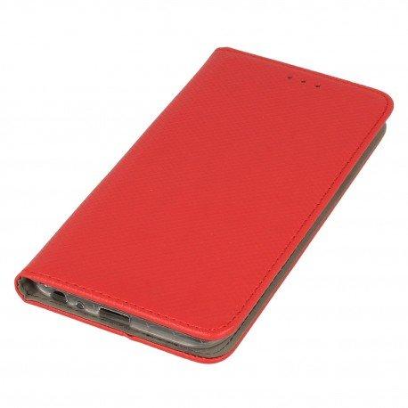Etui boczne z klapką magnet book LG X Power 2 czerwony