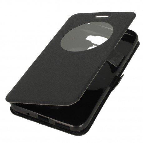 Etui S-View z funkcją podstawki do Asus Zenfone 3 Max ZC553KL czarny