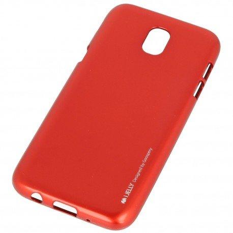 Etui na telefon iJelly Case do Samsung Galaxy J5 2017 czerwony