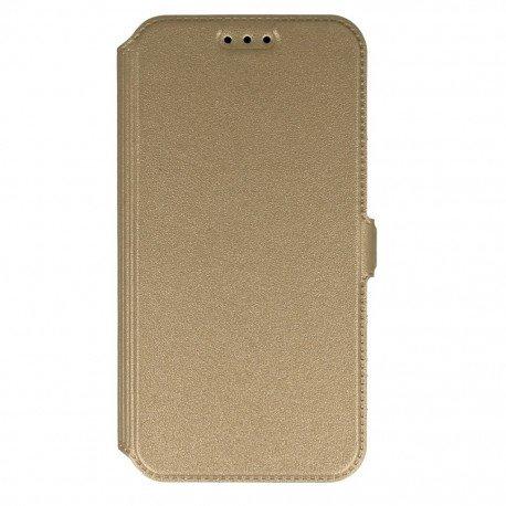 Etui na telefon Pocket Book na Samsung Galaxy J5 2016 złoty