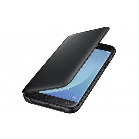 Oryginalne etui Flip Cover EF-WJ530CB Samsung Galaxy J7 2017 czarny