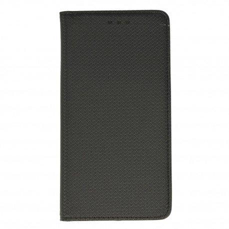Etui z funkcją podstawki Magnet Book na telefon Samsung Galaxy J7 2017 czarny