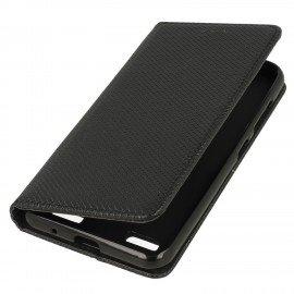 Etui boczne z klapką magnet book Sony Xperia L1 czarny