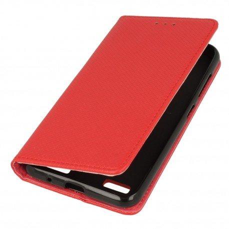 Etui boczne z klapką magnet book Sony Xperia L1 czerwony