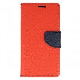 Etui portfelwe Fancy na telefon Samsung Galaxy J3 2017 czerwony