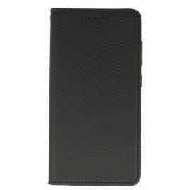 Etui boczne z klapką magnet book Asus Zenfone 3 Max ZC553KL czarny