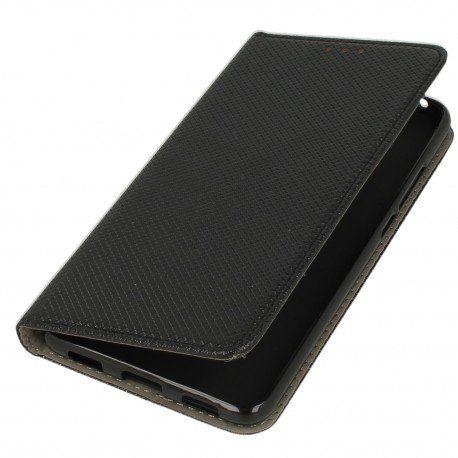 Etui boczne z klapką magnet book Huawei Y7 czarny