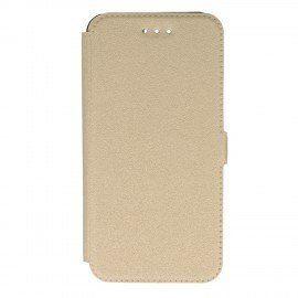 Etui na telefon Pocket Book do Huawei Honor 9 złoty