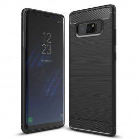 Etui na telefon Carbon Case do Samsung Galaxy Note 8 czarny