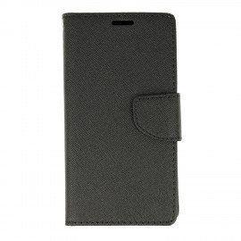 Pokrowiec Etui porfelowe Fancy czarny na telefon Huawei P9 Lite mini