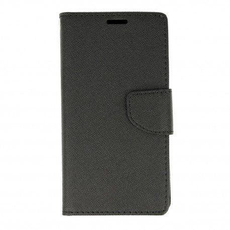 Etui porfelowe Fancy na telefon Huawei P9 Lite Mini czarny