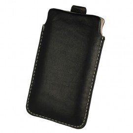 Etui wsuwka skórzana De Lux na telefon Huawei P9 Lite Mini