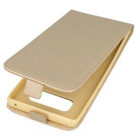 Etui z klapką Flexi do telefonu Samsung Galaxy Note 8 złoty