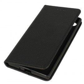 Etui boczne z klapką magnet book Sony Xperia XZ1 czarny
