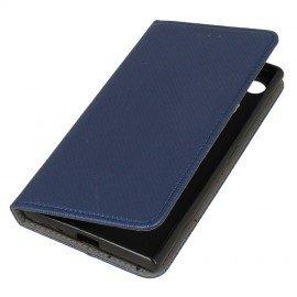 Etui boczne z klapką magnet book Sony Xperia XZ1 granatowy