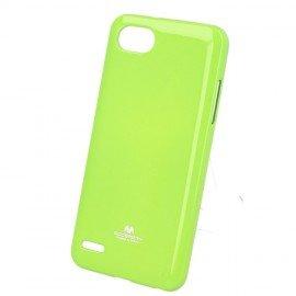 Etui na telefon iJelly Case do LG Q6 limonkowy