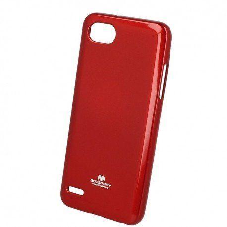 Etui na telefon iJelly Case do LG Q6 czerwony