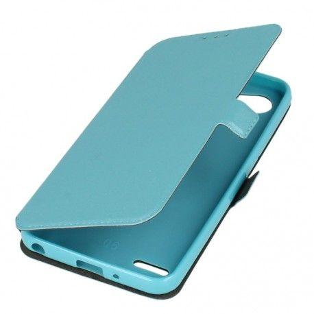 Etui na telefon Pocket Book do LG Q6 niebieski