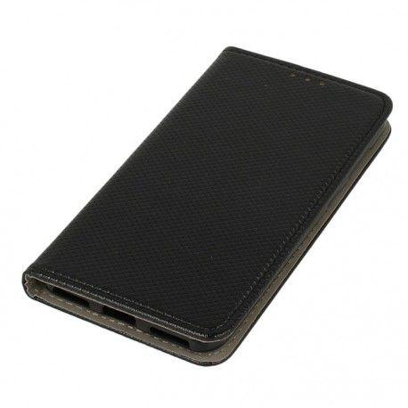 Etui boczne z klapką magnet book Huawei P9 Lite Mini czarny