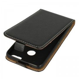 Etui z klapką Flexi do telefonu Huawei P9 Lite mini czarny