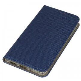 Etui boczne z klapką magnet book Nokia 3 granatowy