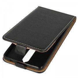 Etui z klapką Flexi do telefonu Nokia 8 czarny