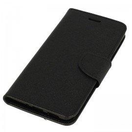 Etui portfelowe Fancy na telefon Nokia 8 czarny