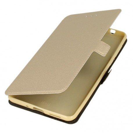 Etui na telefon Pocket Book do Nokia 8 złoty