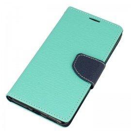 Etui portfelowe Fancy na telefon Nokia 5 miętowy