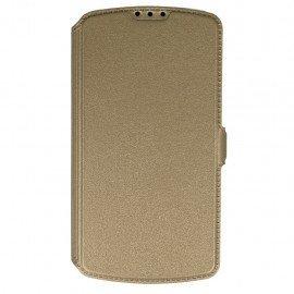 Etui na telefon Pocket Book na LG K4 LTE K130e złoty