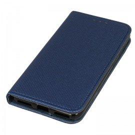 Etui boczne z klapką magnet book Huawei P9 Lite mini granatowy