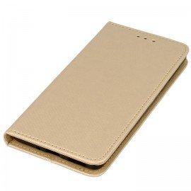 Etui boczne z klapką magnet book Nokia 5 złoty