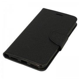 Etui portfelowe Fancy na telefon Xiaomi Redmi Note 5A czarny