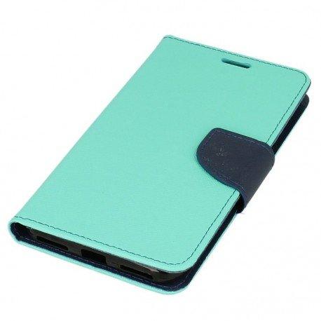 Etui portfelowe Fancy na telefon Xiaomi Redmi Note 5A miętowy