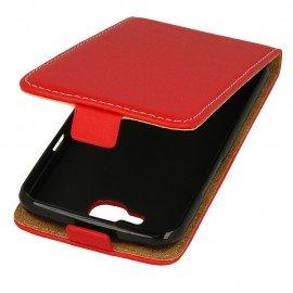 Etui z klapką Flexi do telefonuLG K4 LTE K130e czerwony