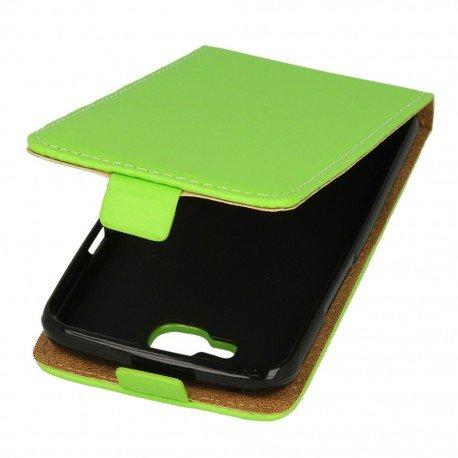 Etui z klapką Flexi do telefonu LG K4 LTE K130e zielony