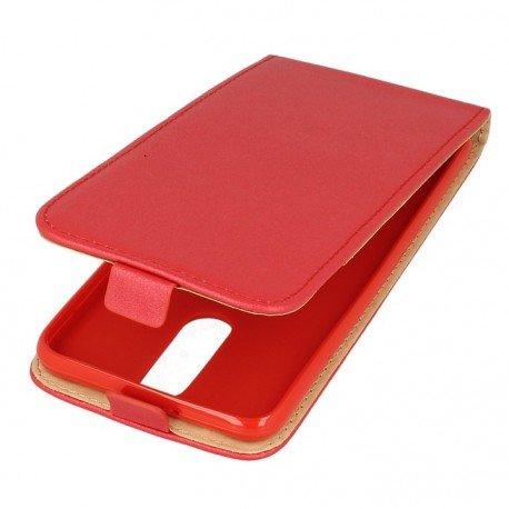 Etui z klapką Flexi do telefonu Huawei Mate 10 Lite czwony