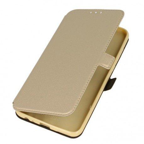 Etui na telefon Pocket Book do Huawei Mate 10 Lite złoty
