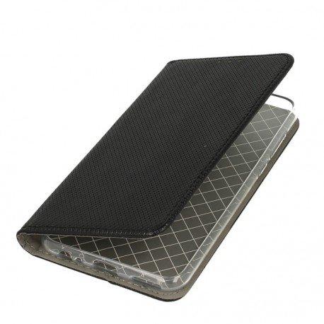 Etui boczne z klapką magnet book Huawei Mte 10 Lite czarny