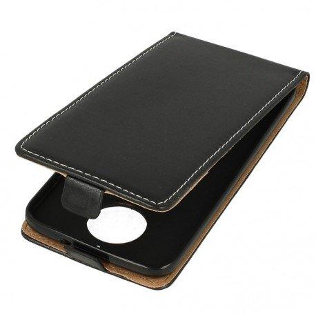 Etui z klapką Flexi do telefonu Motorola Moto G5s czarny