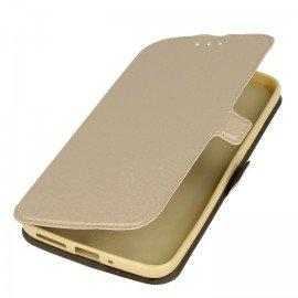 Etui na telefon Pocket Book do Lenovo Moto G5s złoty