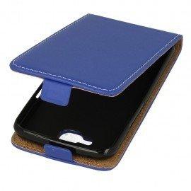 Etui z klapką Flexi do telefonu LG K4 LTE K130e niebieski