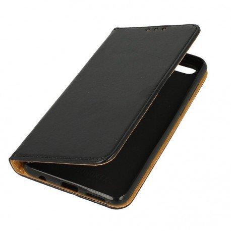 Etui boczne skórzane z Special Book Huawei Honor 7X czarne